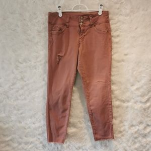 Royalty For Me Midrise Pink Jeans